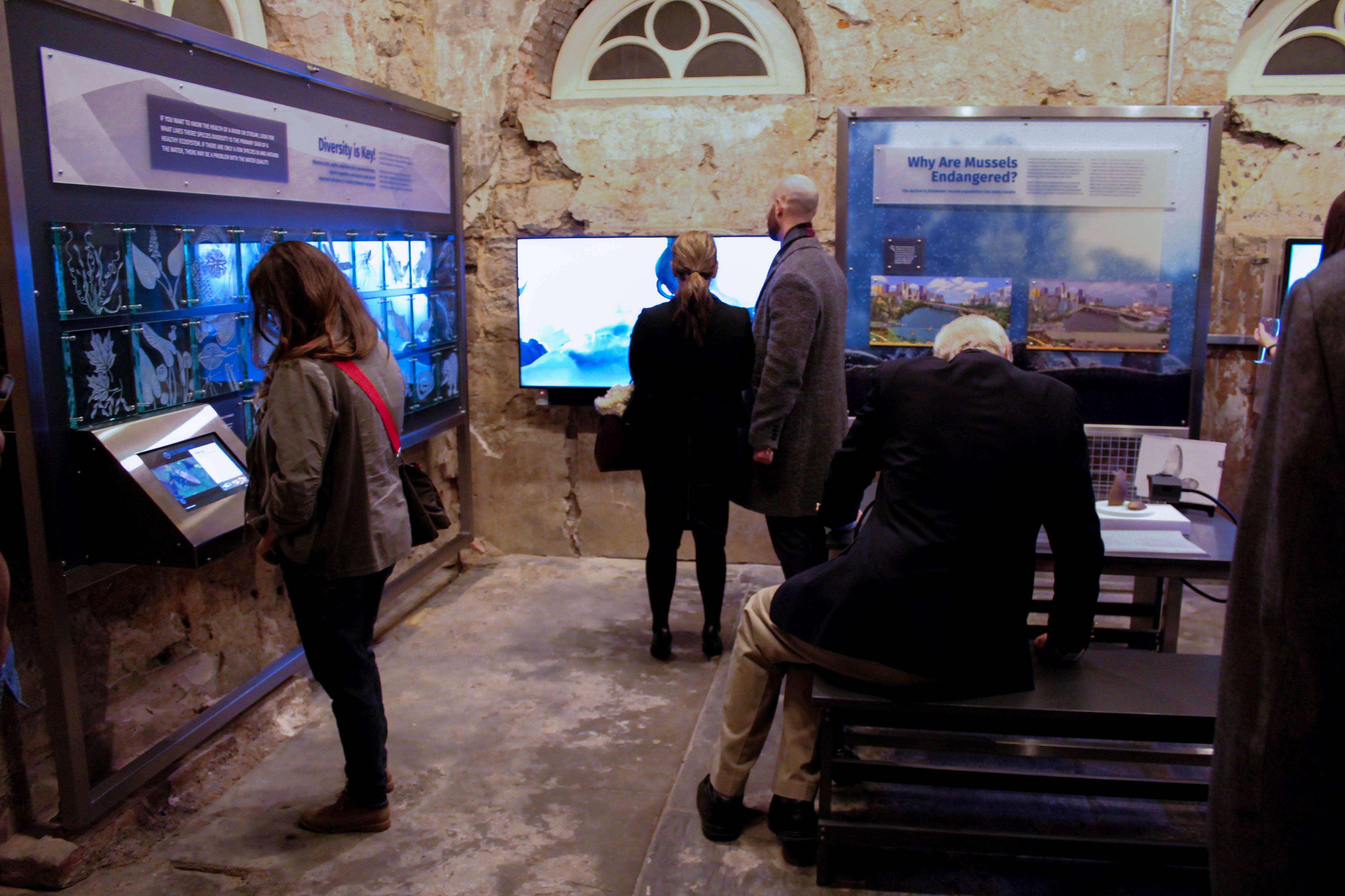 Fairmount Water Works Mussel Hatchery Interactives