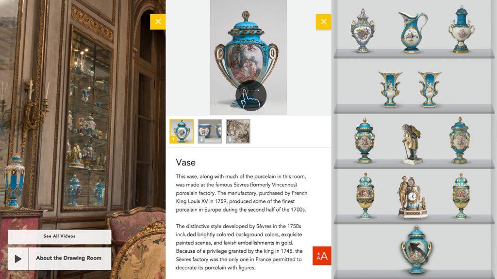 Philadelphia Museum of Art Rice Room Interactive