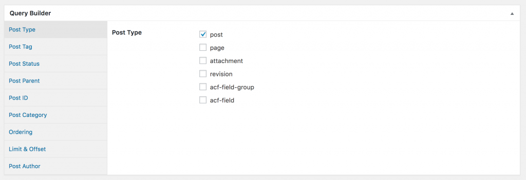 Screenshot of WordPress Rest API Setup